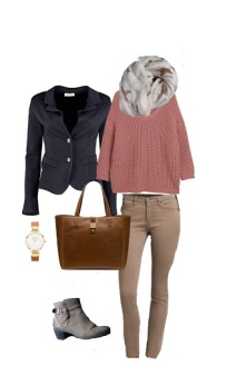 The beauty of a capsule wardrobe - The pink sweater