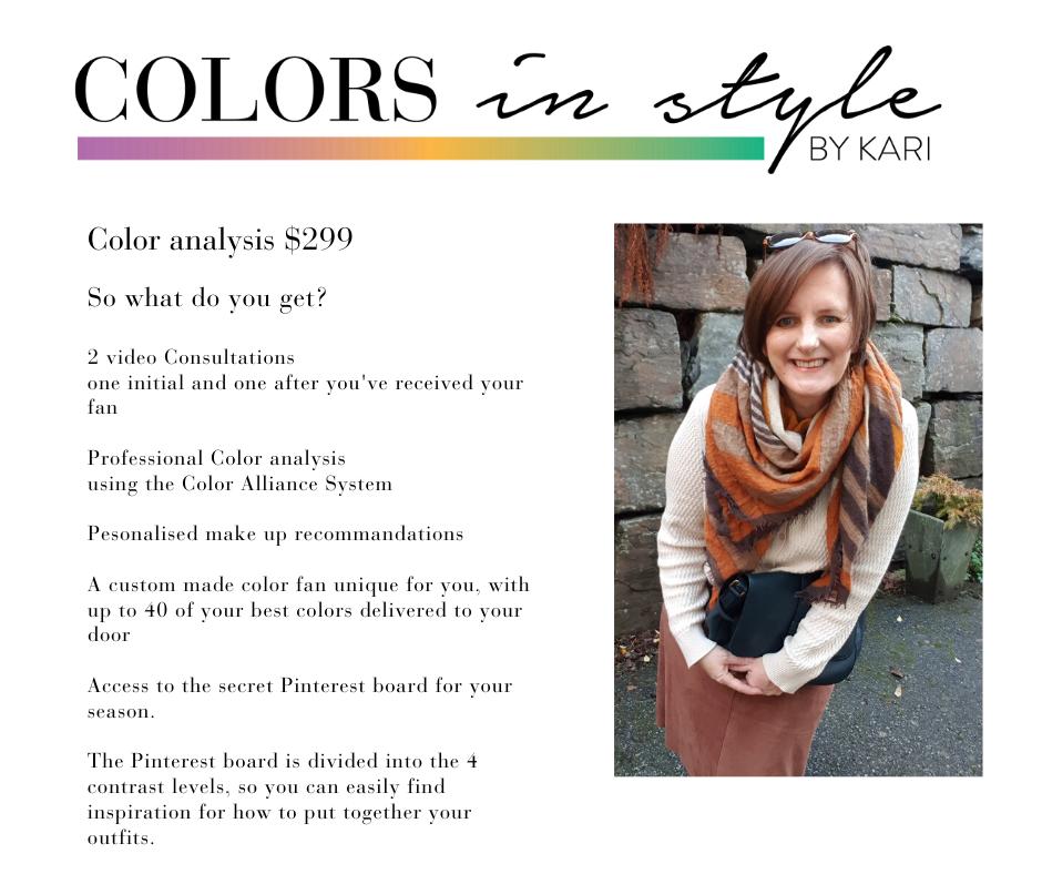 Color analysis $299 (3)